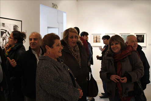 "Opening of the exhibition ""Childhood in a No Man's Land"""
